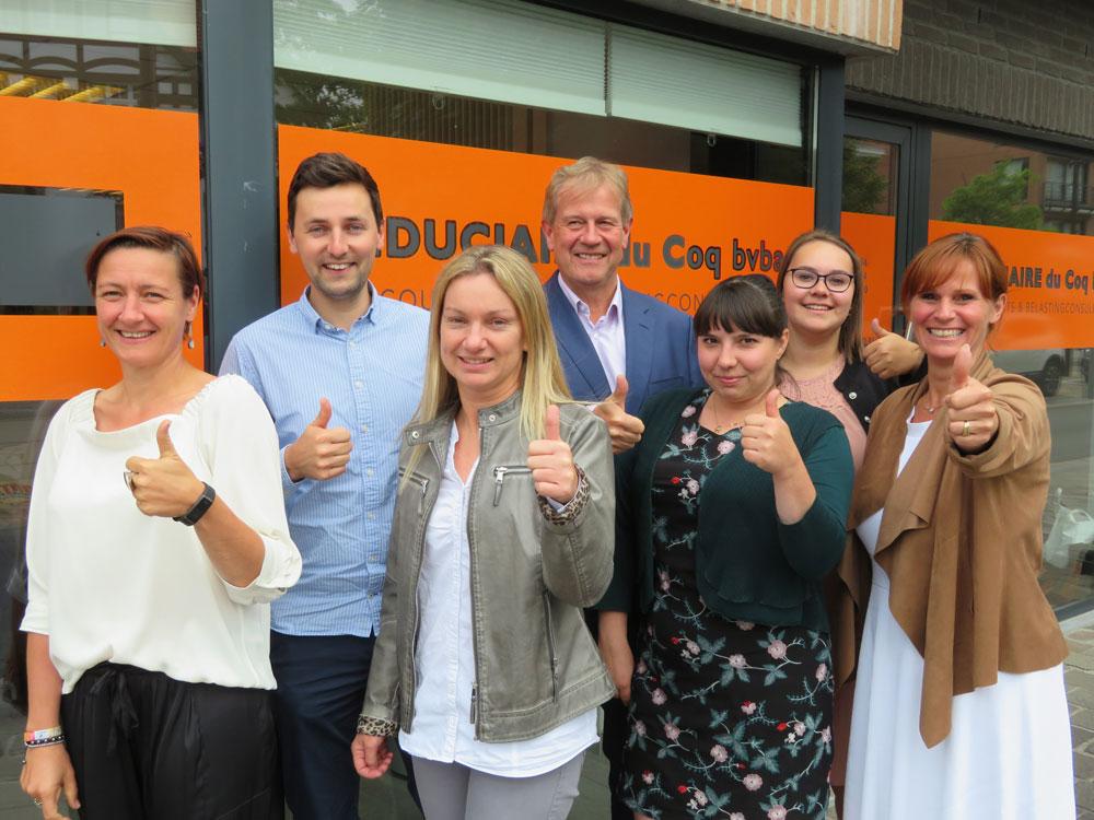 team van Boekhoudkantoor Fiduciaire Du Coq uit De Haan